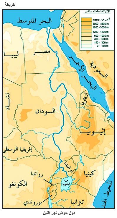 إتفاقيات دول حوض النيل المرسال