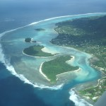 Air photo of Muri lagoon. - 233756