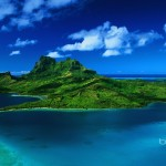 Amazing Nature South Pacific island of Bora Bora - 233759