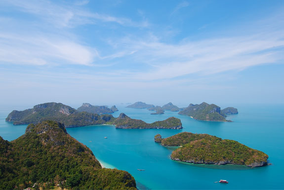 Amazing view of Thailand's Best Islands
