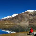 """بحيرة القمر في الهند """"شاندرا تال Chandratal"""""""