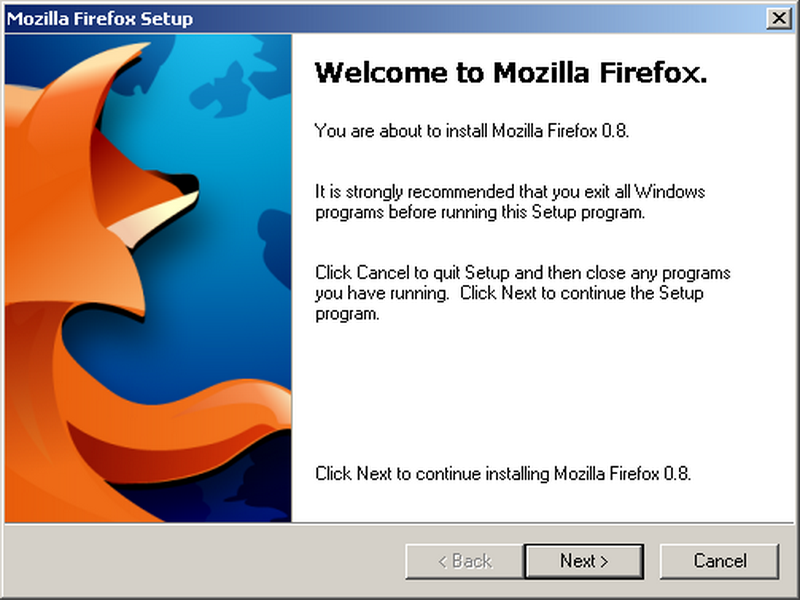 Download and install Firefox
