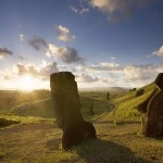 Easter Island sunrise in Pacific Islands - 233760