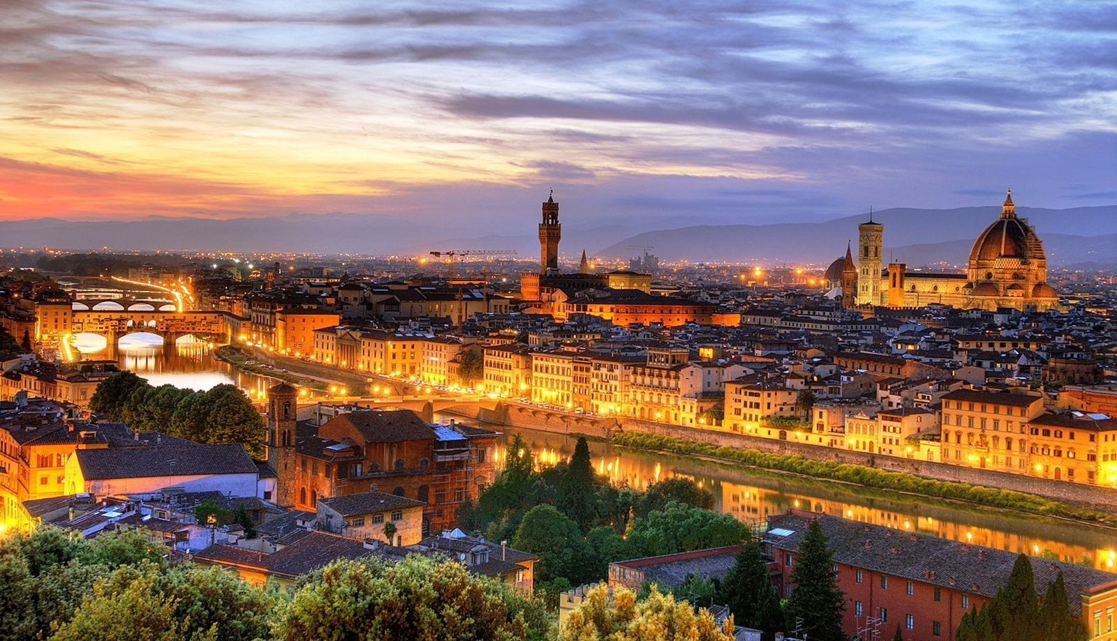Florence, the city of the lily, gave birth to the Renaissance