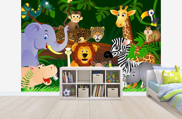 ورق حائط لغرف الاطفال بالصور المرسال