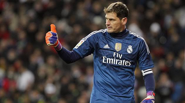 Iker Casillas is the goalkeeper Real Madrid 2015