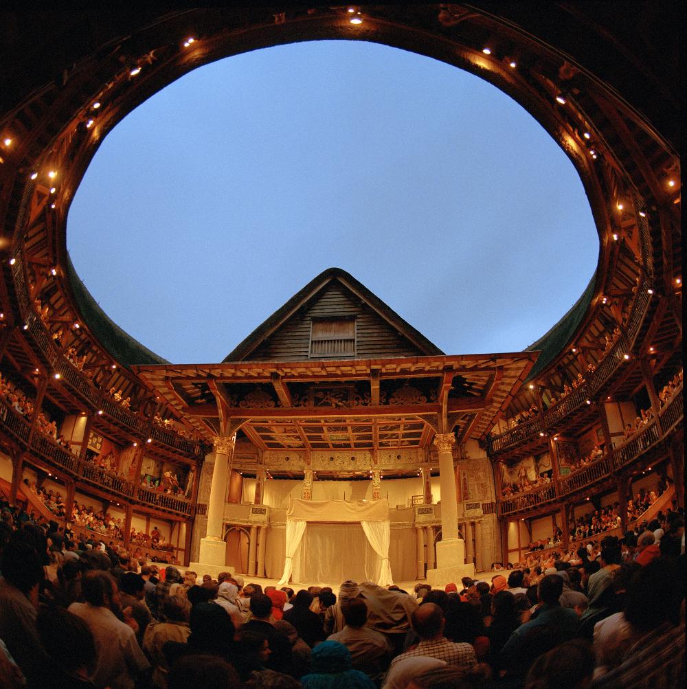 the Globe Theatre Double