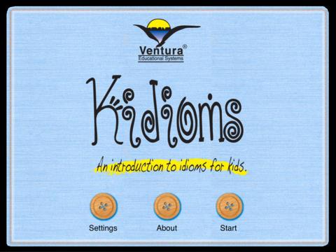 تطبيق كيديومز Kidioms