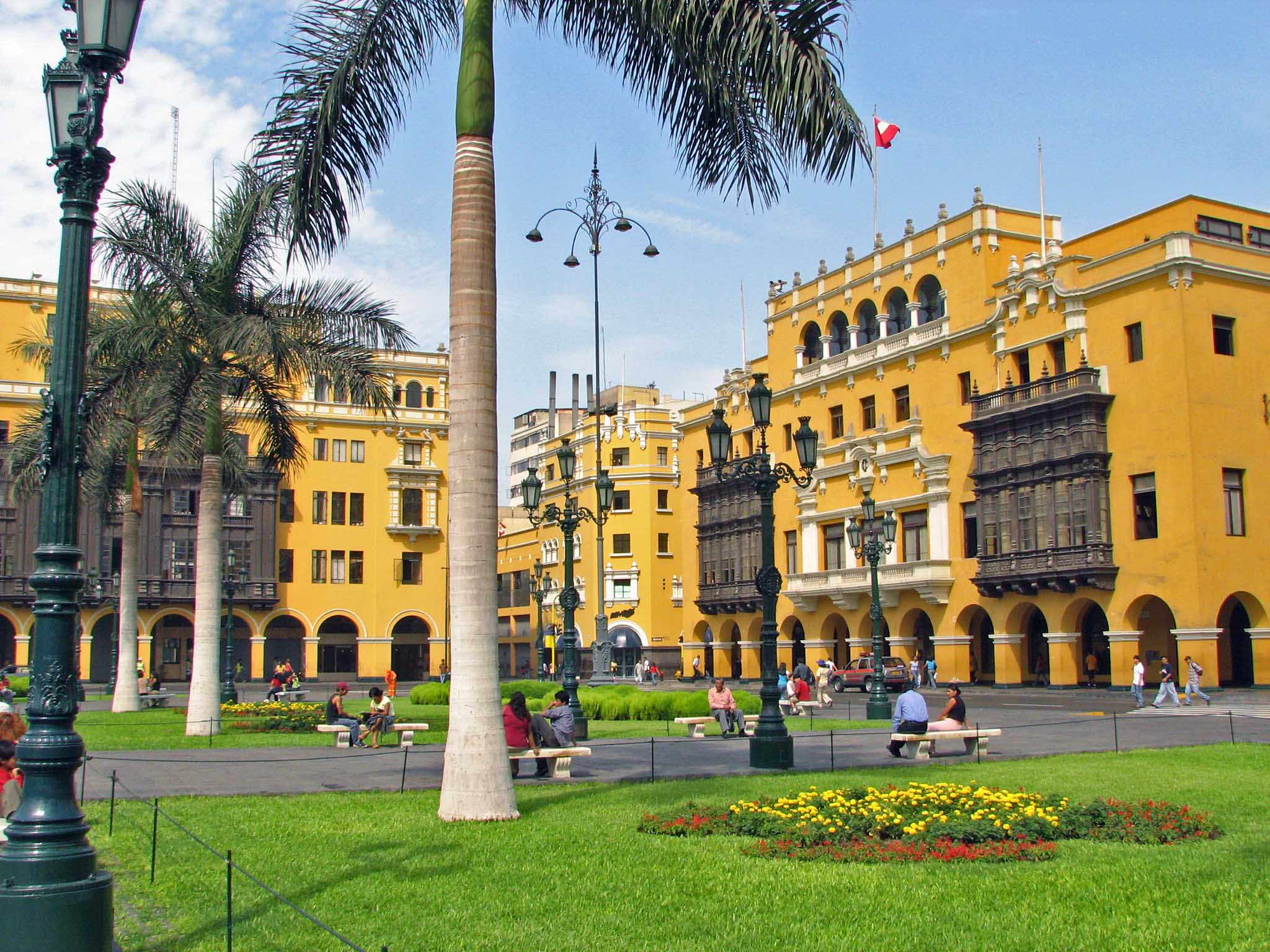 the capital of the Republic of Peru