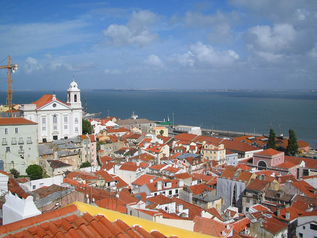 Lisbon, Portugal is Beautiful capital perched