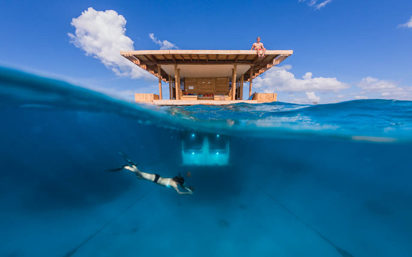 Manta resort underwater hotelManta resort underwater hotel