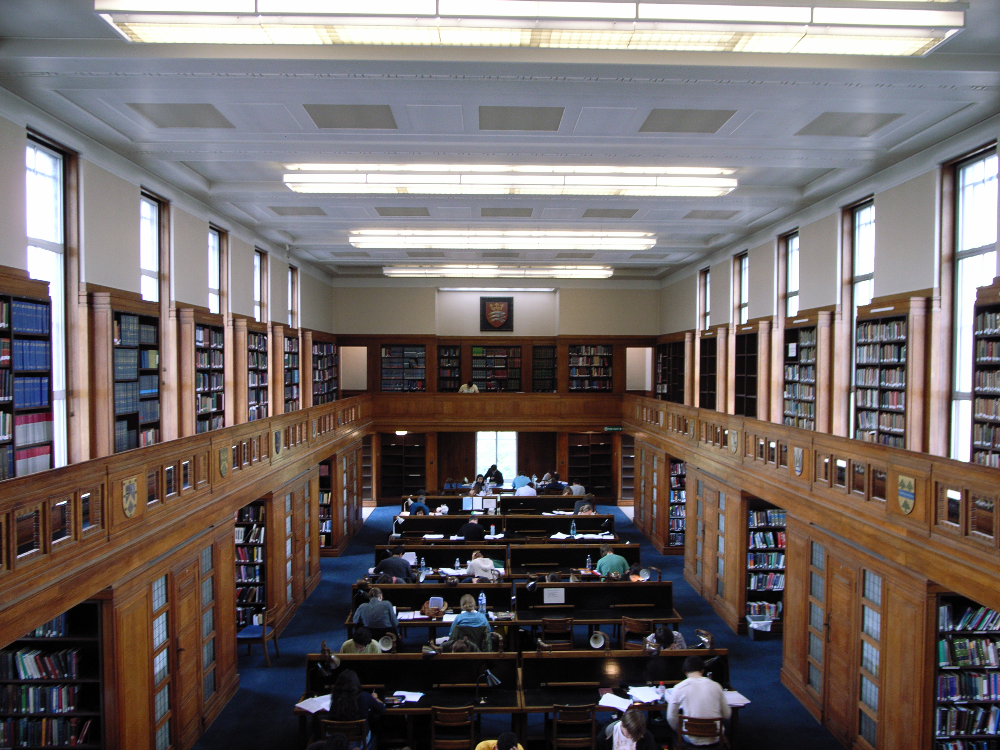 Library of The University Of