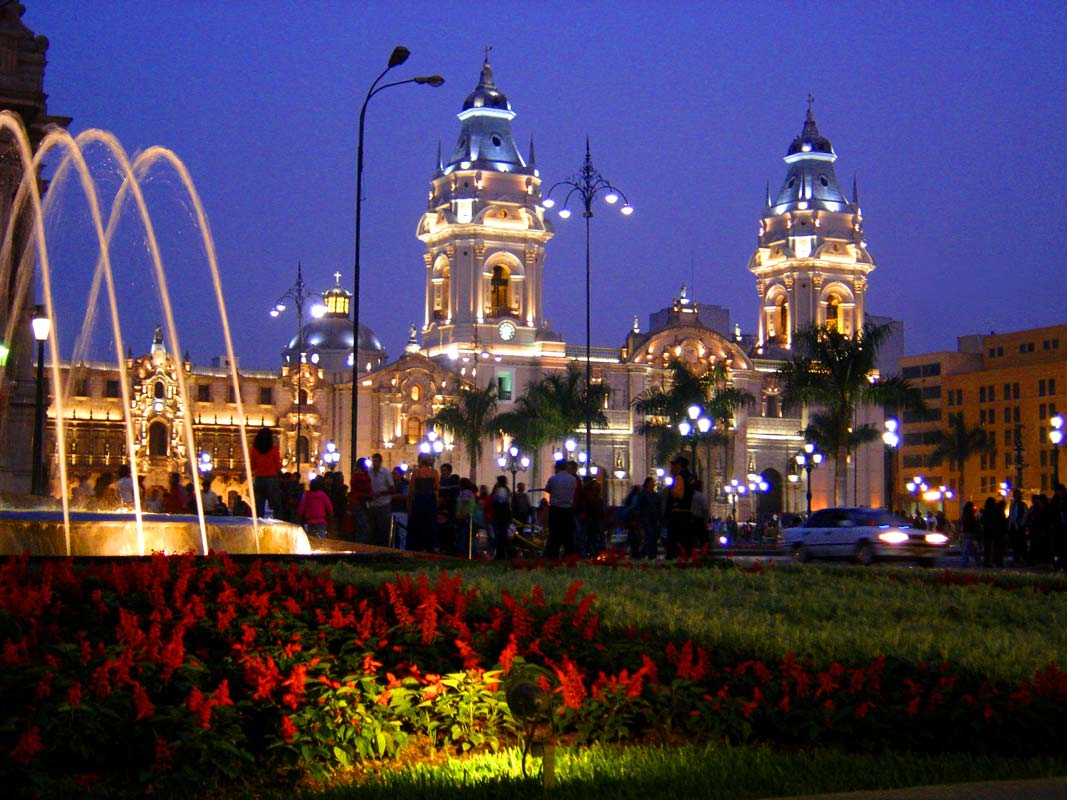 the Historic Centre of Lima