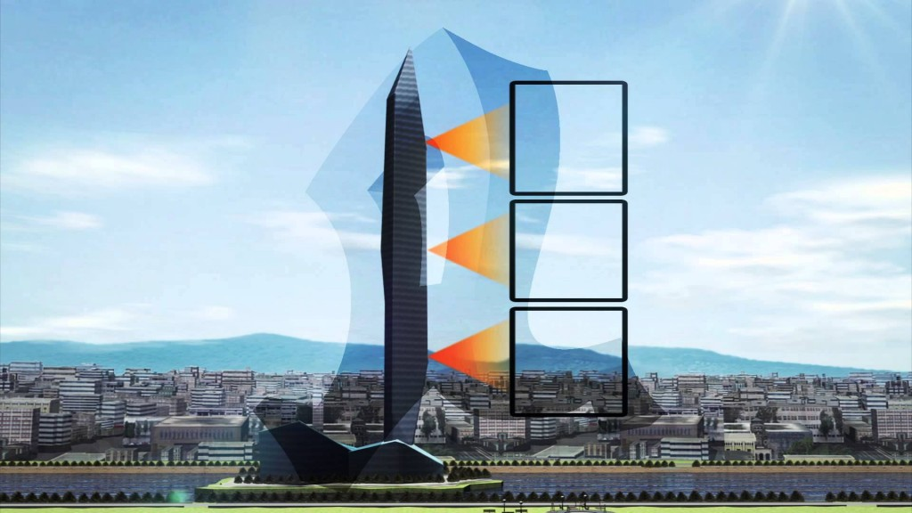 South Korea's new Tower Infinity