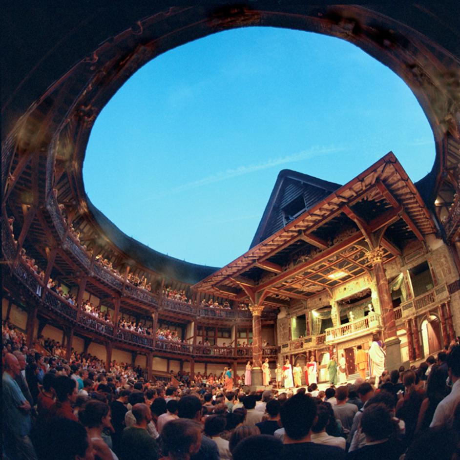 The Globe Theatre made