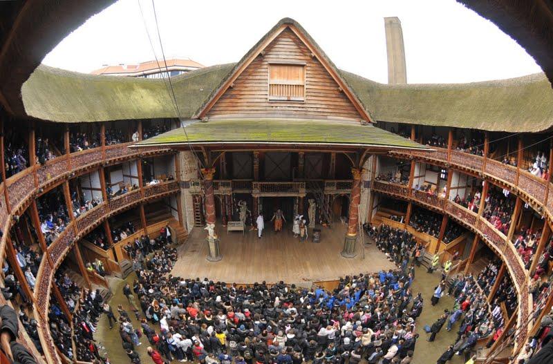 The Globe Theatre was a theatre in London