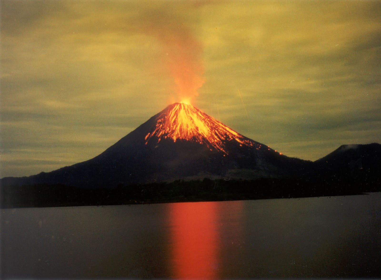 The volcano was dormant for hundreds of years