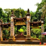 Thuong Temple Door in Vietnam - 240725