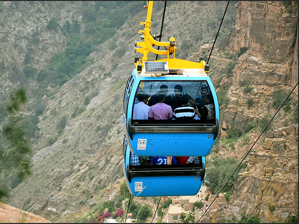 Tour by cable car