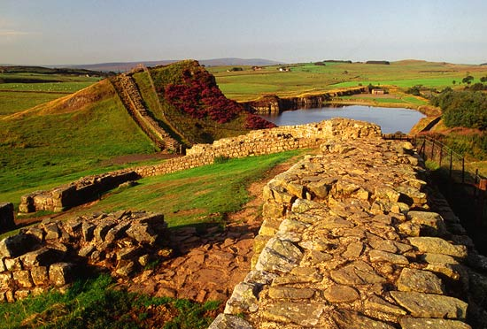 Vallum Hadriani, was a defensive fortification in the Roman province