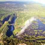 نهر زمبيزي رابع أكبر نهر في أفريقيا