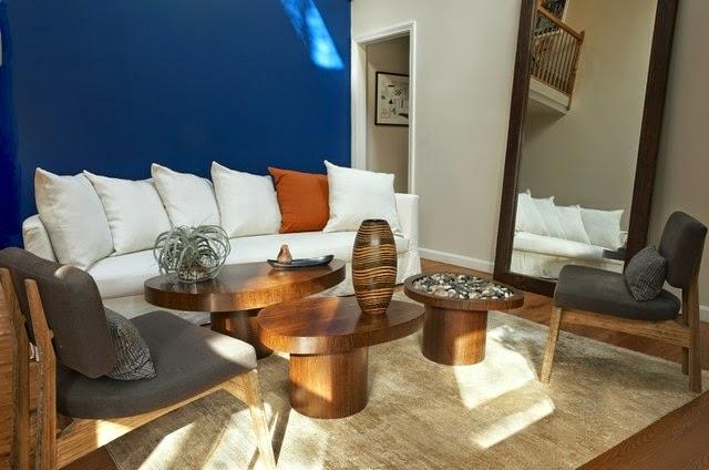 غرف الجلوس بالآلوان المشرقة