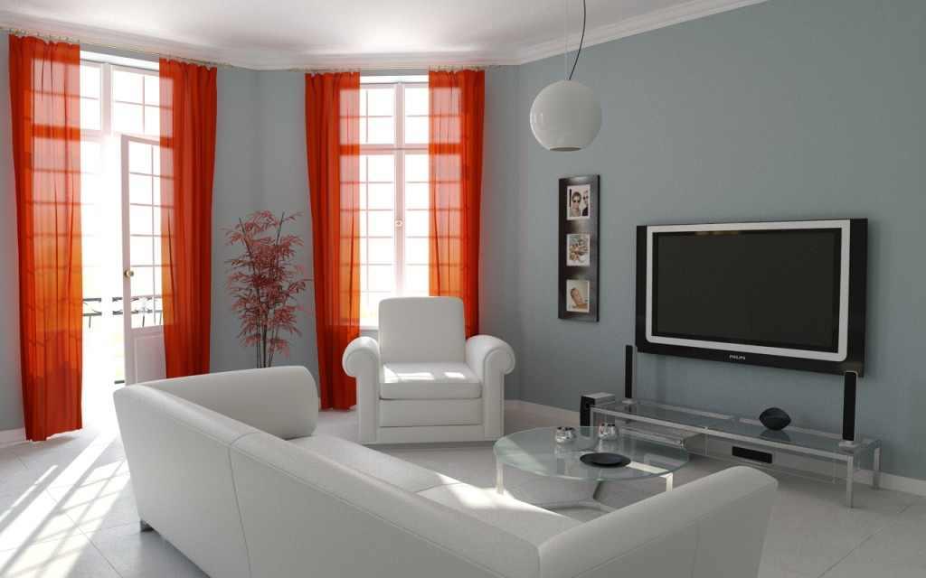 ارقي تصاميم للستائر 2015 living-room-curtain-