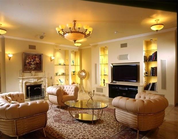 اضاءة غرف الجلوس | المرسال