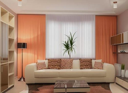 - Modern living room curtains photos ...