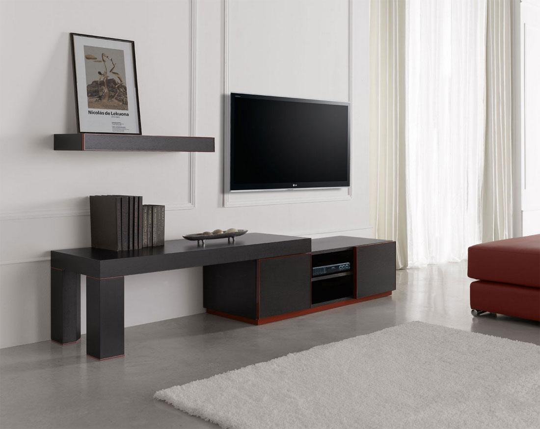 اجمل تصاميم طاولات التلفزيون المودرن