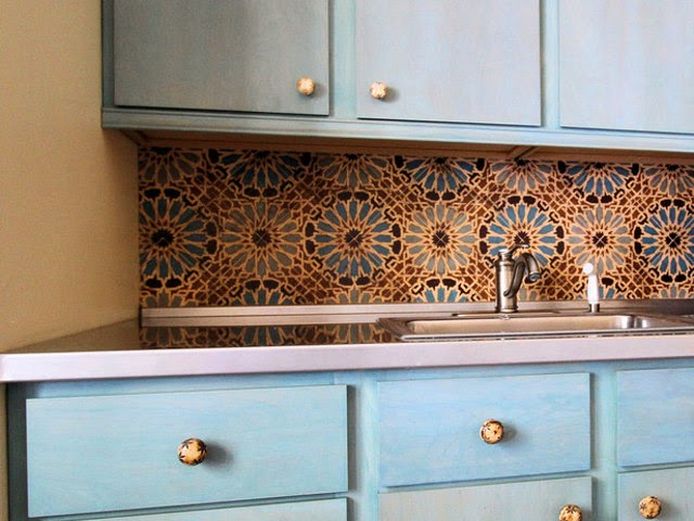 Moroccan inspired kitchen design