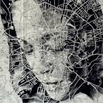 تحويل الخرائط الى لوحات فنية مدهشة