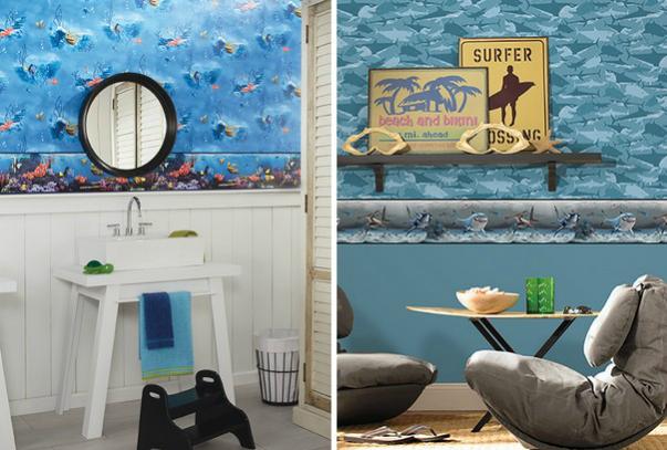 رسمات مميزة لورق جدران غرف الاطفال
