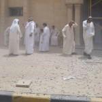 مشاهد من أحداث تفجير مسجد الإمام الصادق