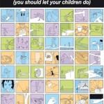 خمسة أشياء خطيرة ينبغى لك السماح لها لإطفالك