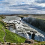 Gullfoss is one of the most popular tourist attractions - 244722