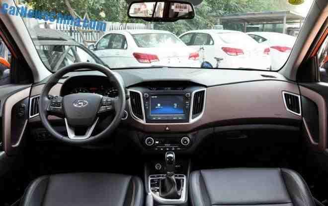 داخلية السيارة هيونداي كريتا 2016