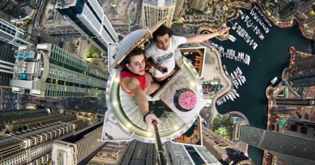 Le selfie le plus dangereux du monde
