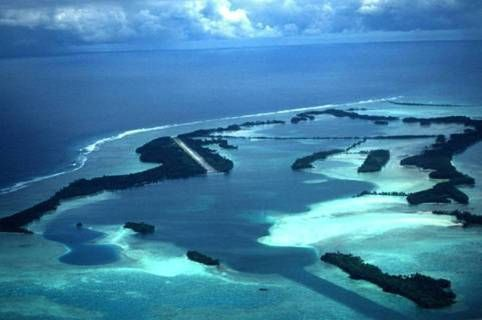 Palmyra Atoll is one of the Line Islands in Micronesia