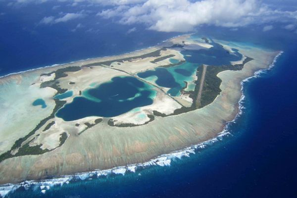 Palmyra Atoll is part of the Northern Line Islands in the Pacific. Credit Kydd Pollock