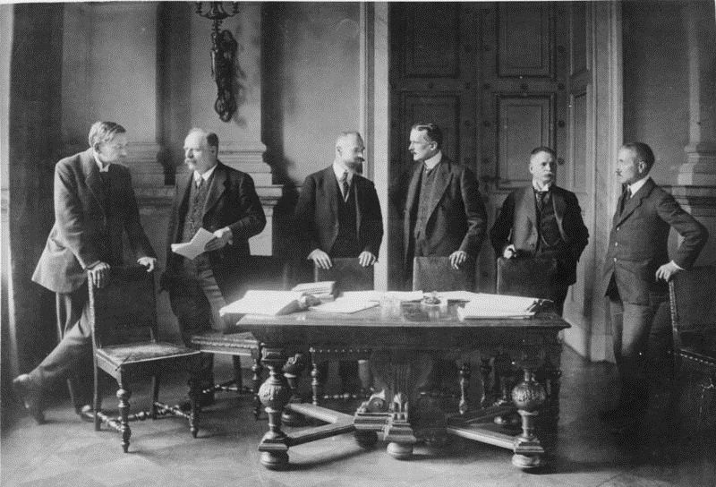 the peace settlement of world war i Analyze the decisions made at the paris peace conference explain why the  united states senate refused to ratify the treaty ending world war i objectives.