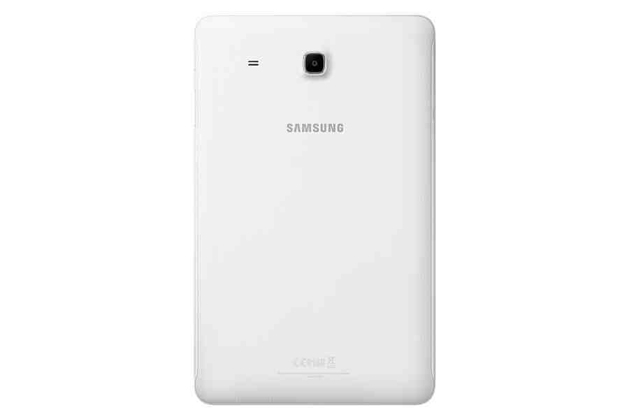 The back of the Samsung Galaxy Tab E