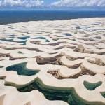 الحديقة الوطنية البرازيلة التي تأخد الرمال فيها أشكال غريبة - 255224