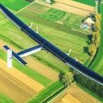 شاهد طائرة تعمل بالطاقة الشمسية و تحطم الرقم القياسي