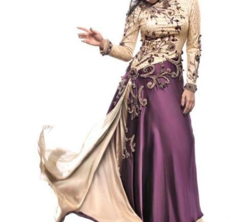 فستان بيج وموف