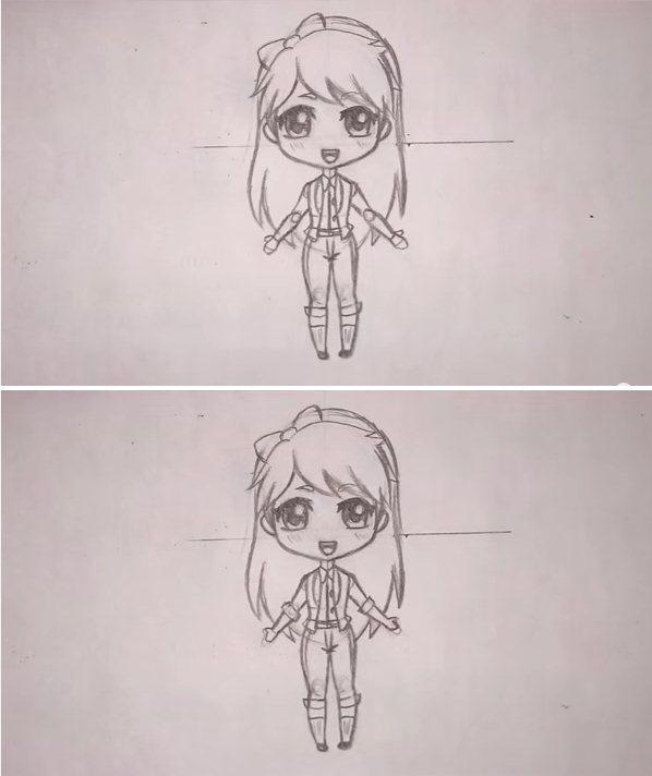 رسم بنات تعليم رسم بنات سهل بالرصاص خطوة بخطوة رسم سهل رسم بنات