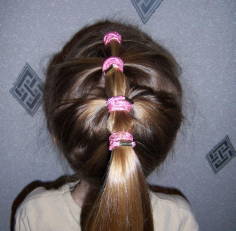 تسريحات للمدرسة بنات الابتدائي المتوسط Ponytail-long-hair.j