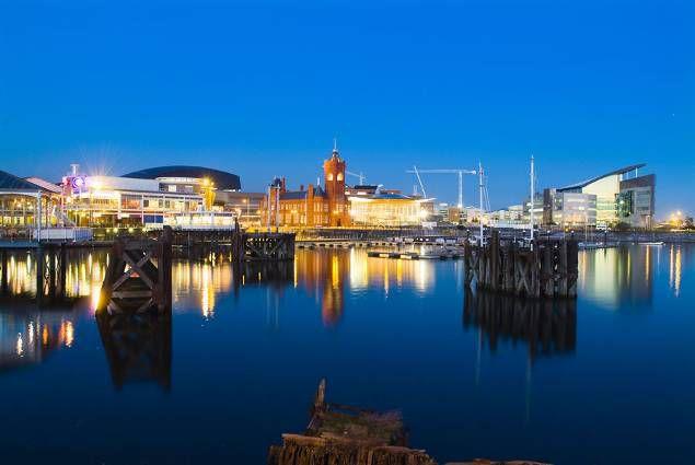 Cardiff Bay area