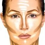 طريقة مكياج الوجه النحيف