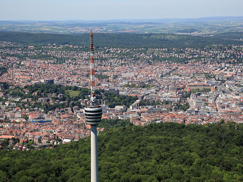 The city of Stuttgart